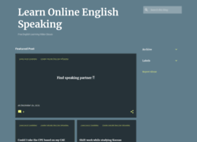 Learnonlineenglishspeaking.blogspot.in thumbnail