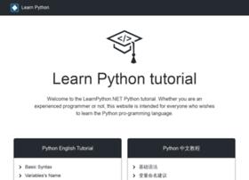 Learnpython.net thumbnail