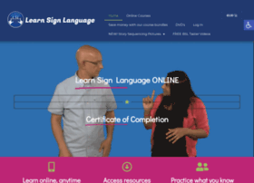 Learnsignlanguage.co.uk thumbnail