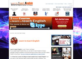 Learntoteachenglish.com thumbnail