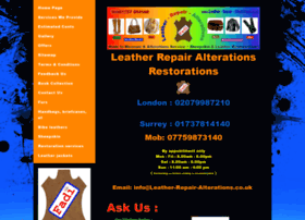 Leather-repair-alterations.co.uk thumbnail