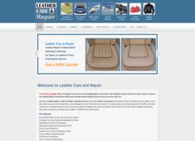 Leathercareandrepair.co.uk thumbnail