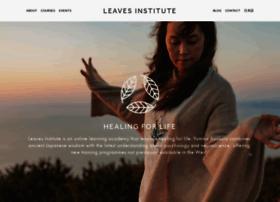 Leavesinstitute.com thumbnail