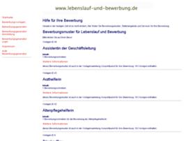 Lebenslauf-und-bewerbung.de thumbnail