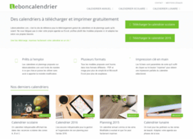 Leboncalendrier.fr thumbnail
