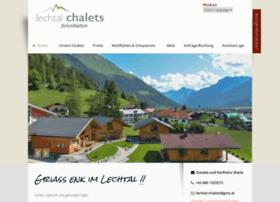 Lechtal-chalets.at thumbnail