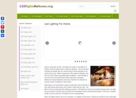 Ledlightsforhome.org thumbnail