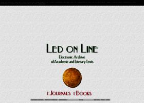 Ledonline.it thumbnail