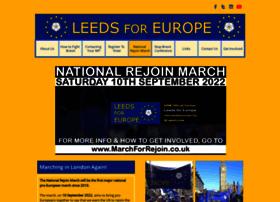 Leedsforeurope.org thumbnail