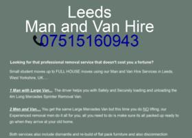 Leedsmanandvanhire.co.uk thumbnail