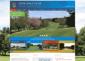 Leekgolfclub.co.uk thumbnail