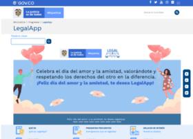 Legalapp.gov.co thumbnail