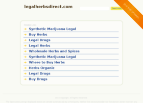 Legalherbsdirect.com thumbnail