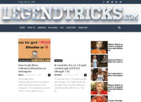 Legendtricks.com thumbnail