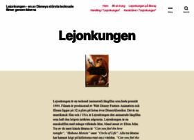 Lejonkungen.se thumbnail
