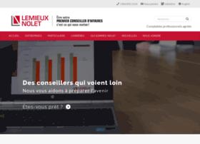 Lemieuxnolet.ca thumbnail