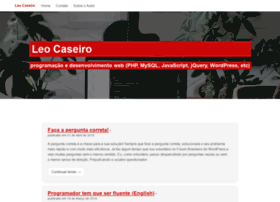 Leocaseiro.com.br thumbnail