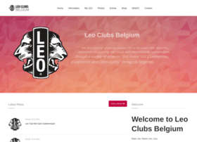 Leoclubs.be thumbnail