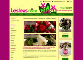 Lesleysflorist.co.uk thumbnail