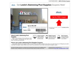 Lesliesswimming.couponrocker.com thumbnail