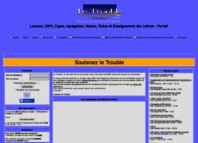 Letrouble.net thumbnail