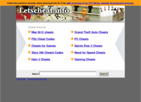 Letscheat.info thumbnail