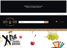 letsvapedubai com at WI  Let's Vape Dubai - Premium Ejuice E-liquid