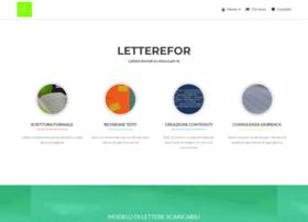 Letterefor.it thumbnail
