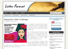 Letterformat.net thumbnail