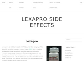 Lexapro-side-effects.org thumbnail