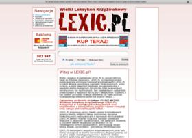 Lexic.pl thumbnail