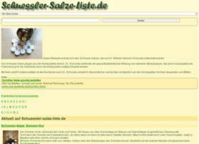 Lexikon-der-schuessler-salze.de thumbnail