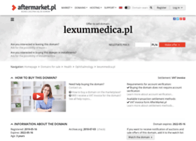 Lexummedica.pl thumbnail