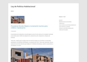 Leydepoliticahabitacional.com thumbnail