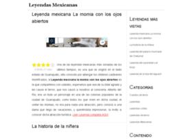 Leyendasmexicanas.mx thumbnail