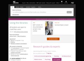 Libraries.mit.edu thumbnail