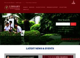 Library.au.edu thumbnail