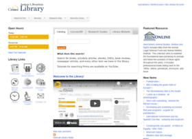 Library.canisius.edu thumbnail
