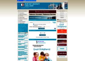 Library.neu.edu.tr thumbnail
