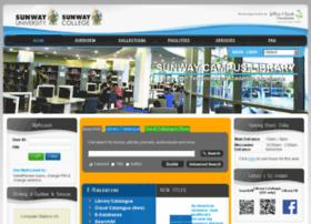 Library.sunway.edu.my thumbnail