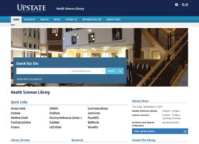 Library.upstate.edu thumbnail