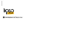 Liceovirtualutalca.cl thumbnail