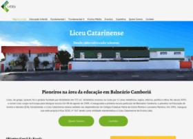 Liceucatarinense.com.br thumbnail