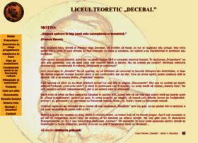 Liceuldecebal-bucuresti.ro thumbnail