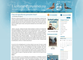 Licitatie-porumbei.ro thumbnail