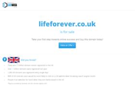 Lifeforever.co.uk thumbnail