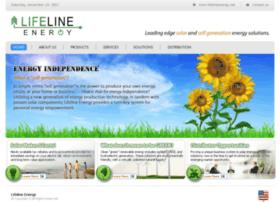 Lifelineenergy.net thumbnail