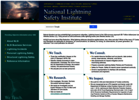 Lightningsafety.com thumbnail