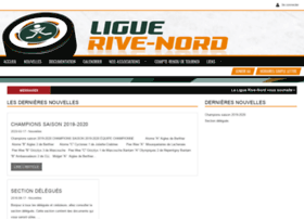 Liguerive-nord.ca thumbnail
