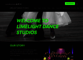 Limelightdance.co.nz thumbnail